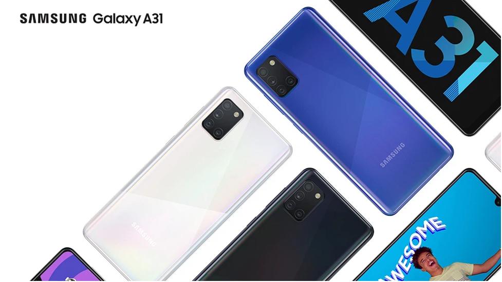 sắc màu Samsung a31